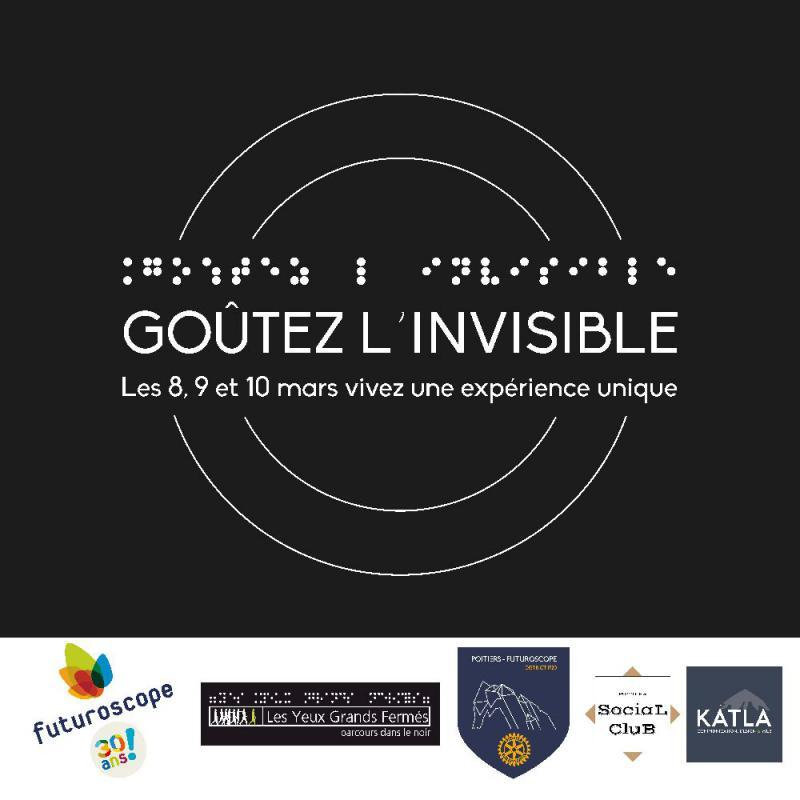 Évènement : Goûtez l'invisible au Futuroscope !