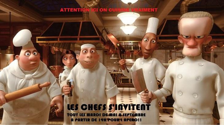 Les chefs s'invitent