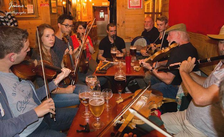 Sessions Irlandaises/Irish Music Session