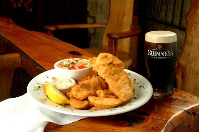 Le CluCul Fish & Chips : Le Clu invite Le Cul De Paille