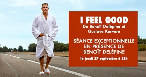 Rencontre exceptionnelle avec Benoît Delépine