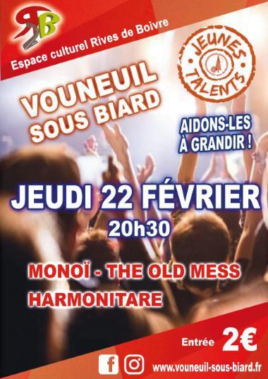 Soirée Jeunes Talents - 2ème demi-finale