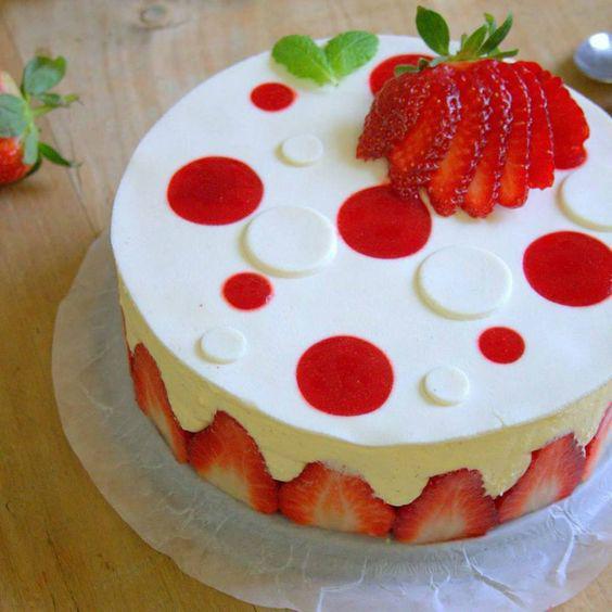 Cours de pâtisserie sur les fraisiers et framboisiers