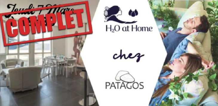 H2O at Home chez Patagos l'Appart'