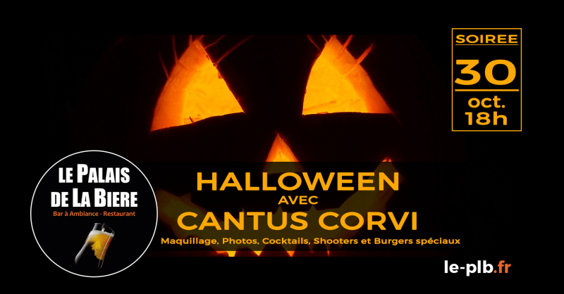 Halloween avec Cantus Corvi !