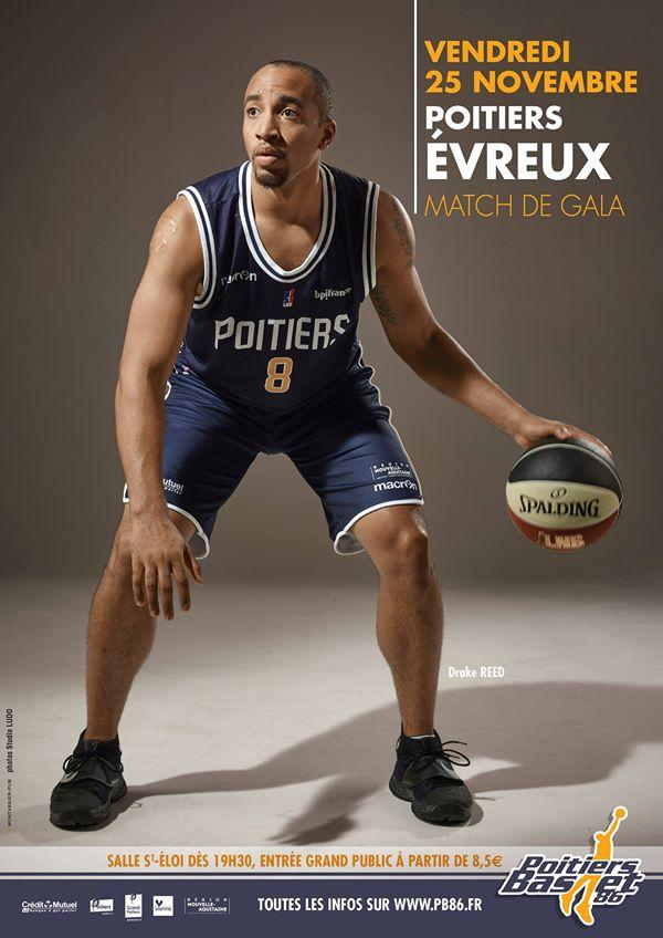 Poitiers - Evreux (7e journée Pro B)