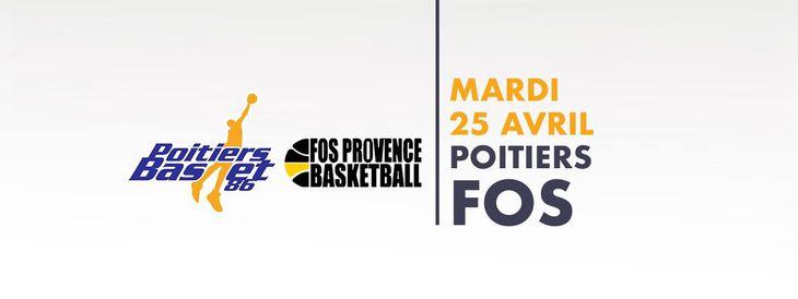 Poitiers - Fos-sur-Mer (29e journée Pro B)