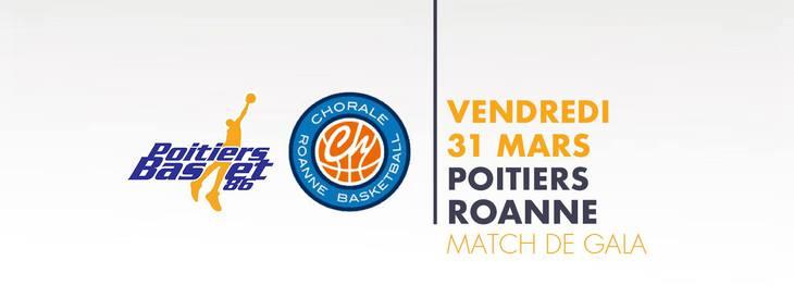 Poitiers - Roanne (25e journée Pro B)