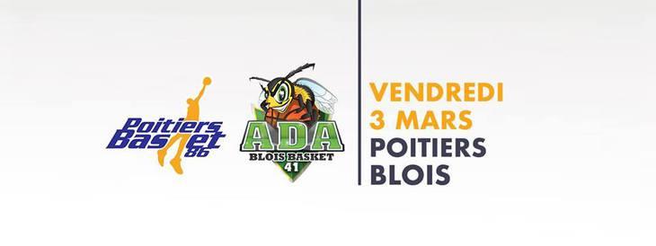 Poitiers - Blois (20e journée Pro B)