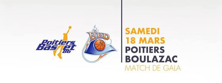 Poitiers - Boulazac (23e journée Pro B)