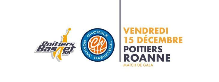 Poitiers - Roanne (9e journée Pro B)