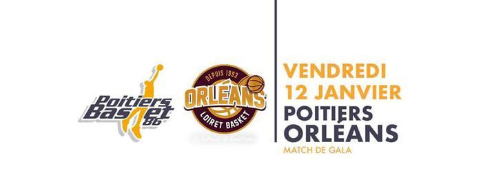 Poitiers - Orléans (13e journée Pro B)