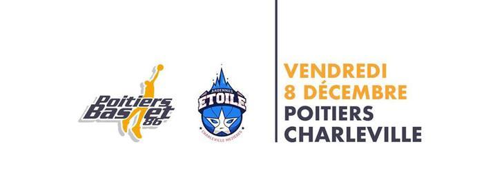 Poitiers - Charleville-Mézières (8e journée Pro B)