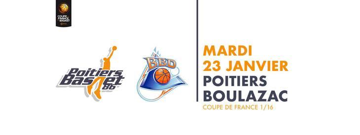 Poitiers - Boulazac (1/16 finale Coupe de France)