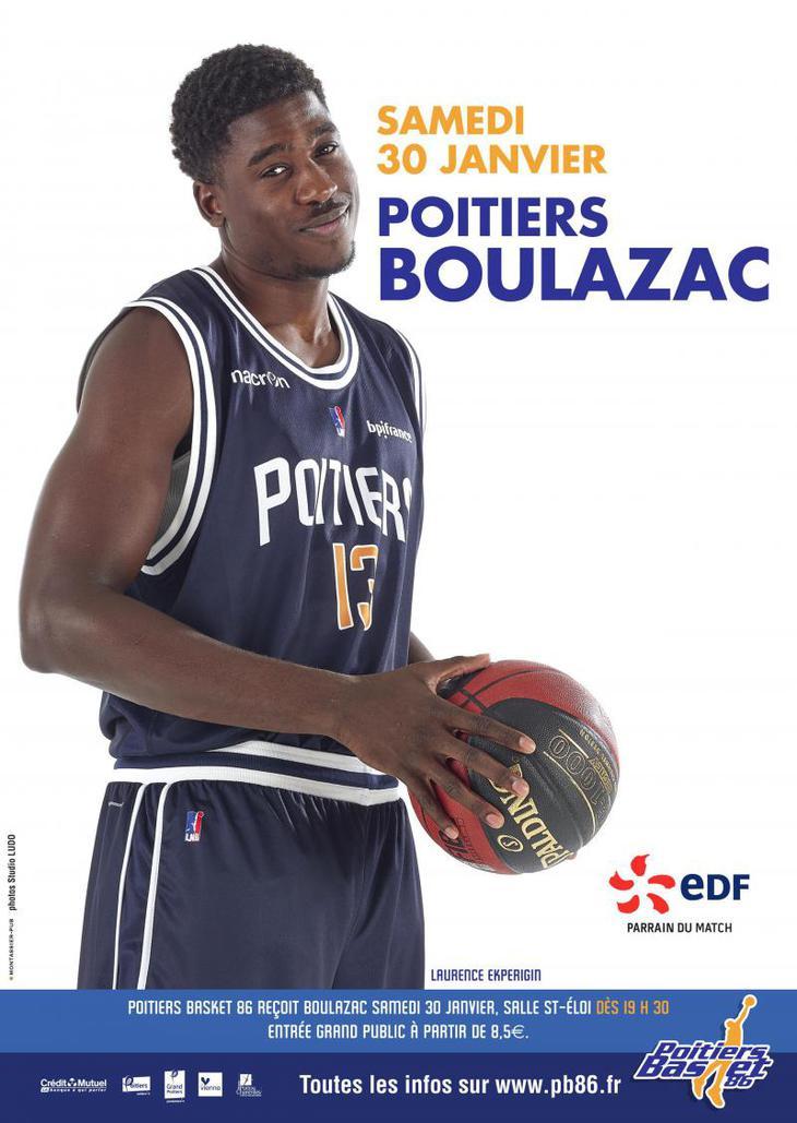 Poitiers - Boulazac (15e journée Pro B)