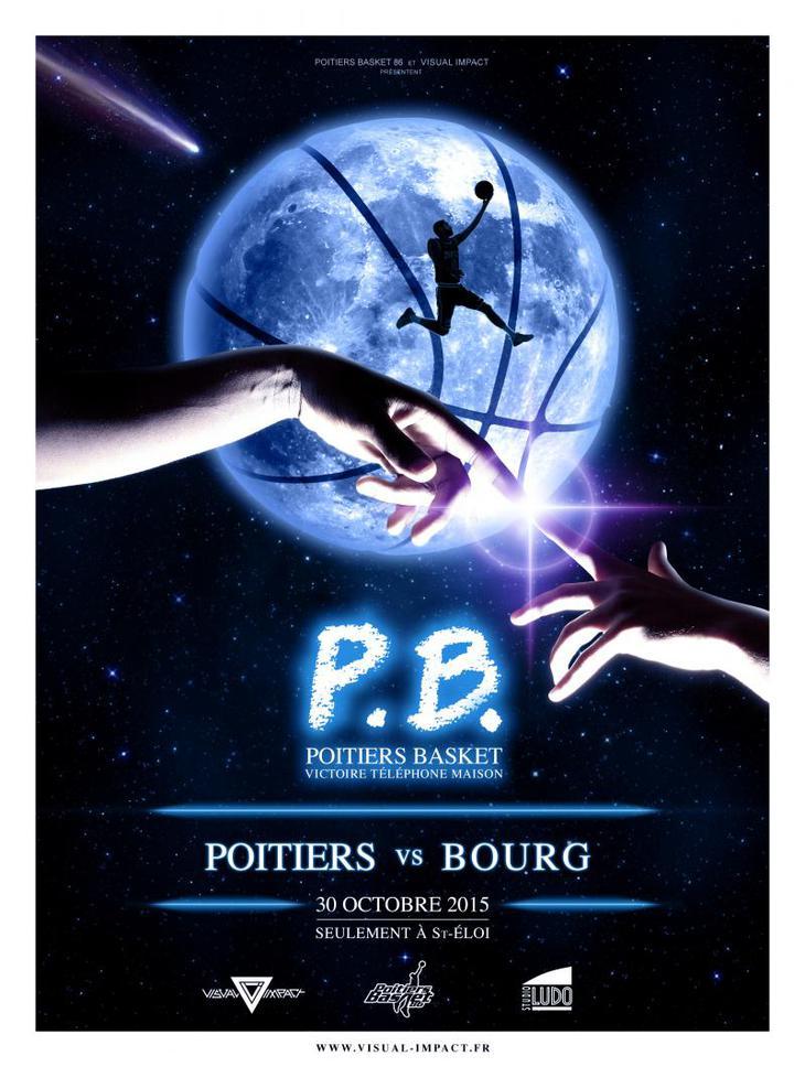 Poitiers - Bourg-en-Bresse (2e journée Pro B)