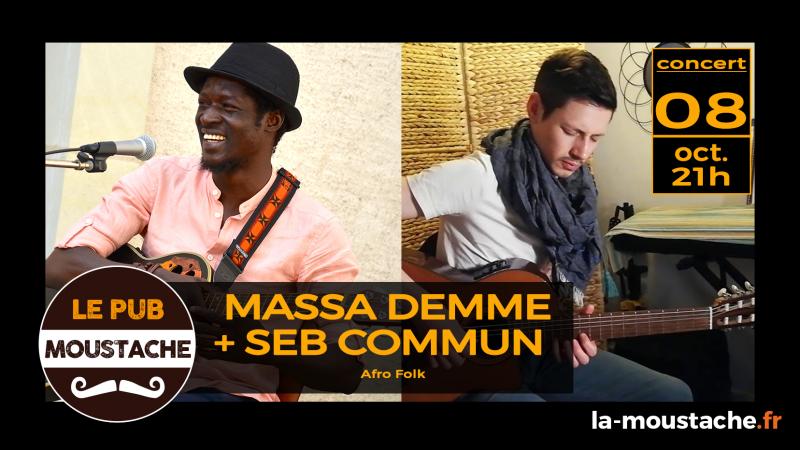 Massa Deme + Seb Commun – Afro Folk