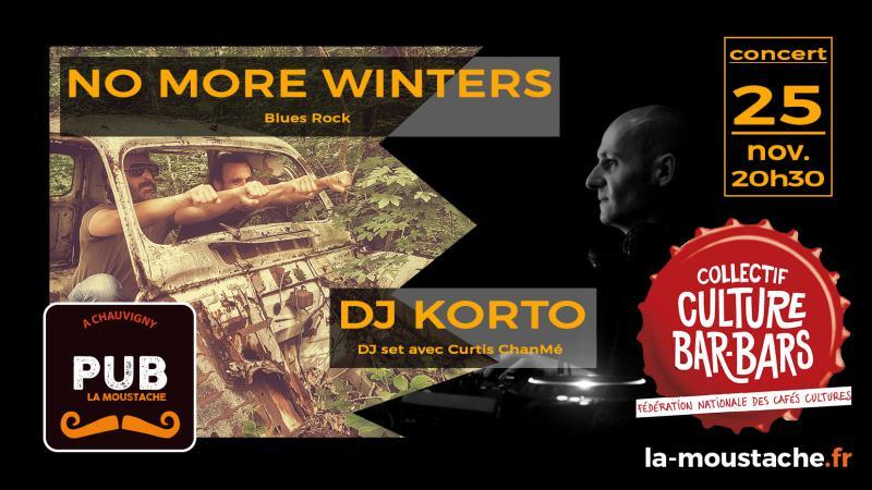 FESTIVAL CULTURE BAR-BARS : No More Winters (Blues Rock) + DJ Korto