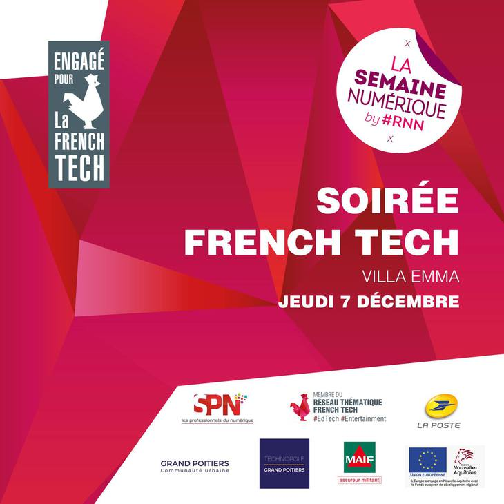Soirée French Tech avec Fleur Pellerin