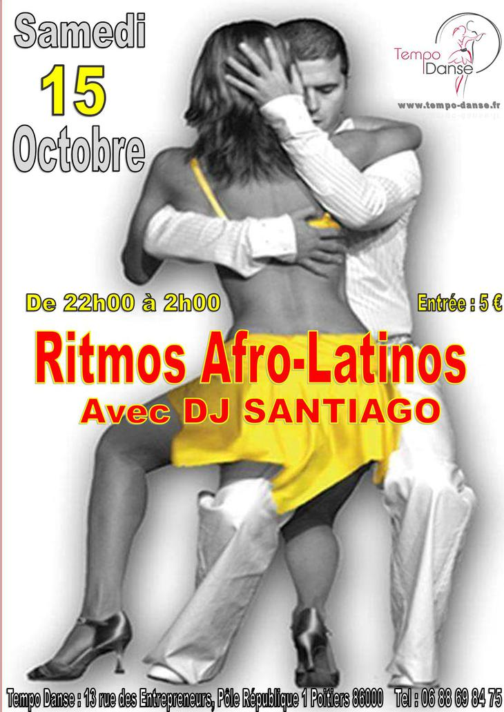 Soirée RITMOS AFRO-LATINOS et MIX'DANSES