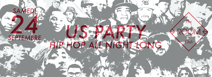 US PARTY • hip-hop all night long •