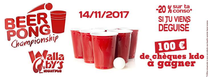 Official beerpong
