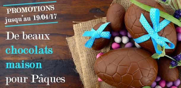 Promotions chocolat Pâques