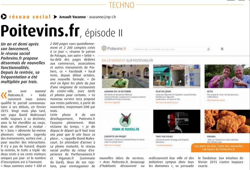 Poitevins.fr, épisode II