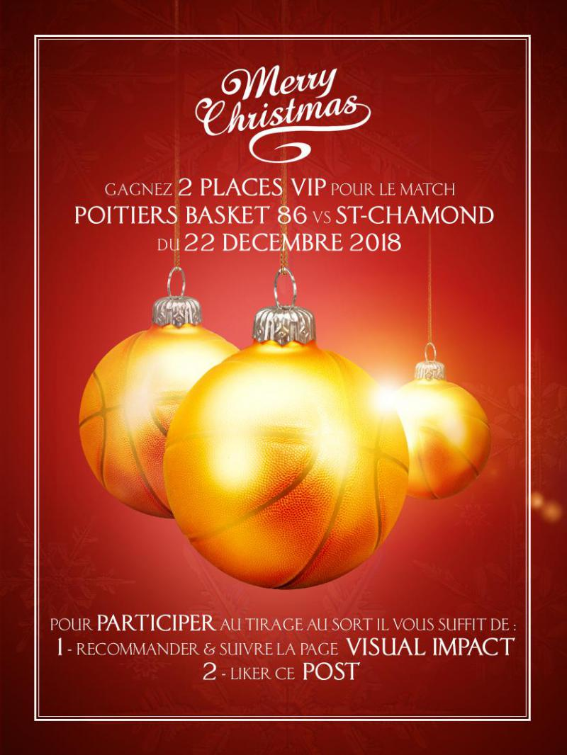 CONCOURS* MERRY CHRISTMAS VISUAL IMPACT