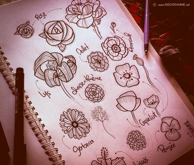 Recherche de fleurs par ideogramme for Offre des fleurs