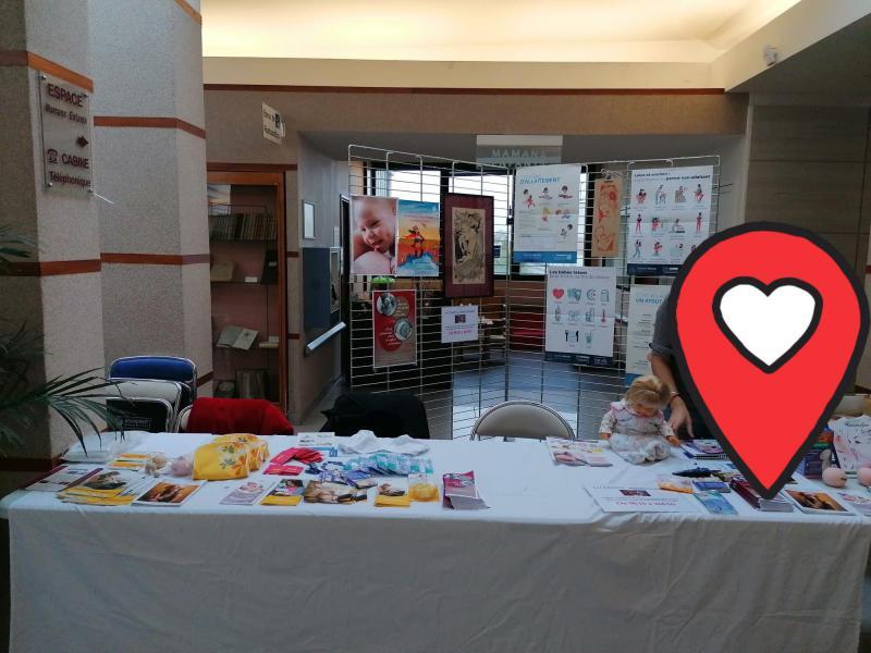 Journée de la 'allaitement maternel au CHU de Poitiers
