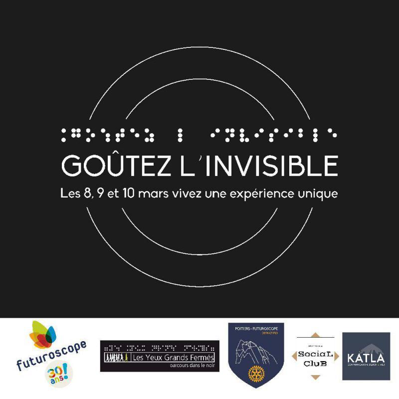 Évènement à Poitiers : Dîners caritatifs dans le noir !