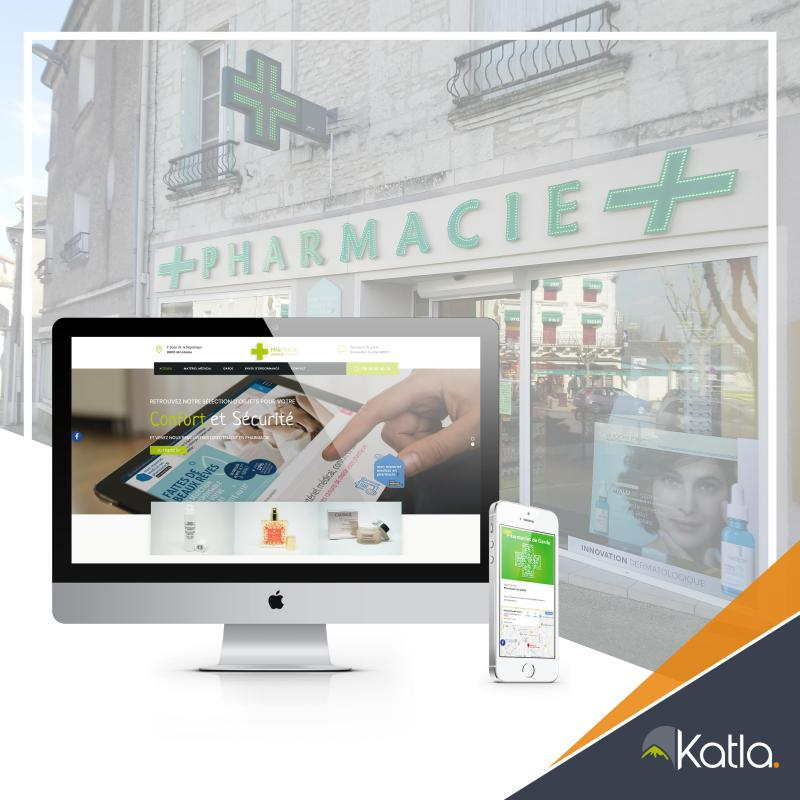 À Mirebeau, la pharmacie se refait une beauté #web !