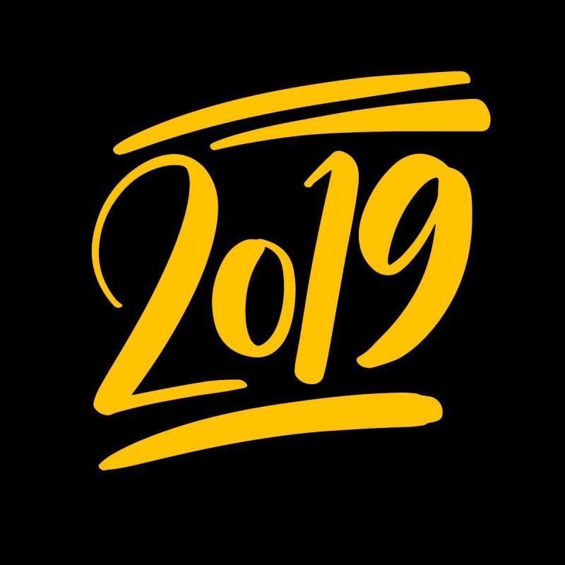 Pour une année 2019 remplie de rires et de joie !