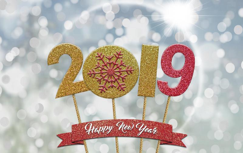 Bonne Année 2019...