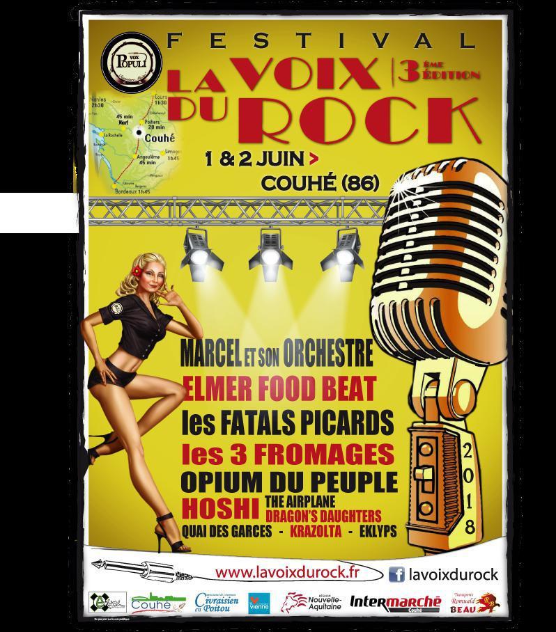 Festival LA VOIX DU ROCK
