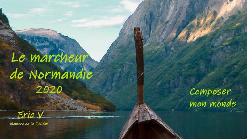 Le marcheur de Normandie / composée par Eric V