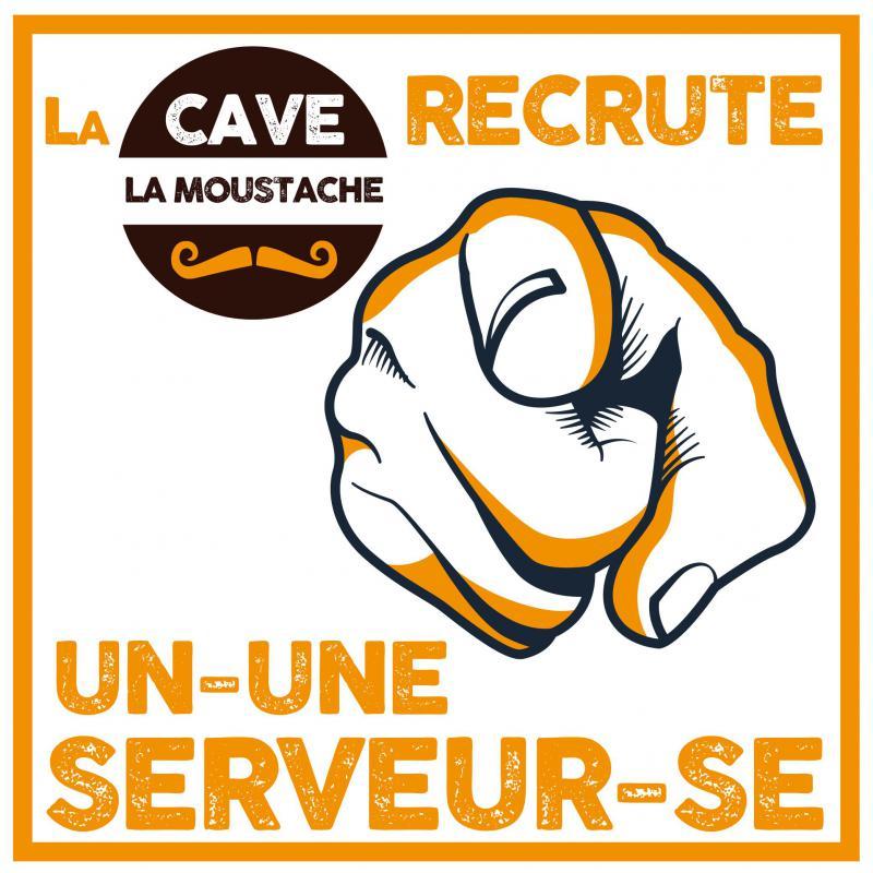 La Cave La Moustache (Jardres) recherche un Serveur / Serveuse !