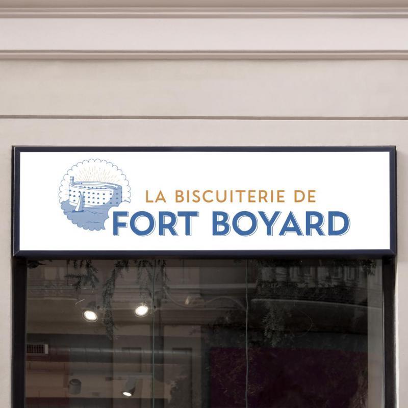 Refonte d'identité visuelle pour la Biscuiterie de Fort Boyard