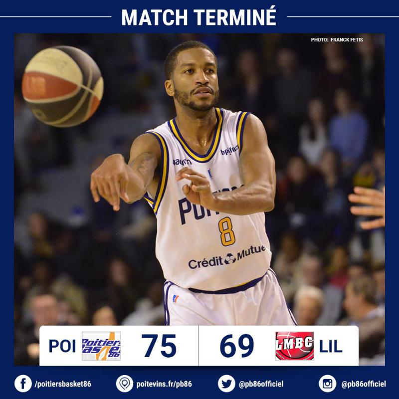 2ème victoire consécutive pour Poitiers !