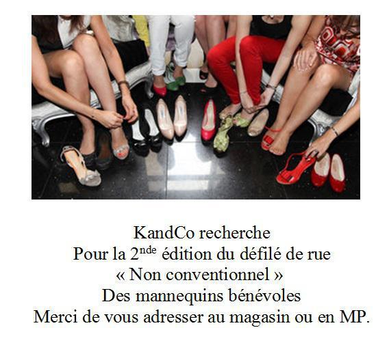 KandCo recherche mannequins...