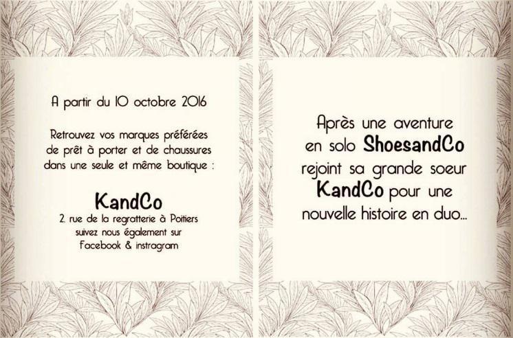 Suivez-nous maintenant @kandcopoitiers
