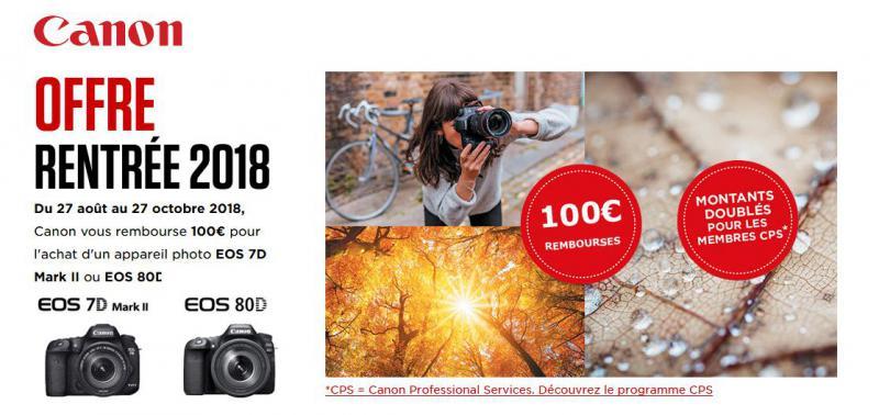 Double opération Canon 80D et Canon 7D MK II !!!!