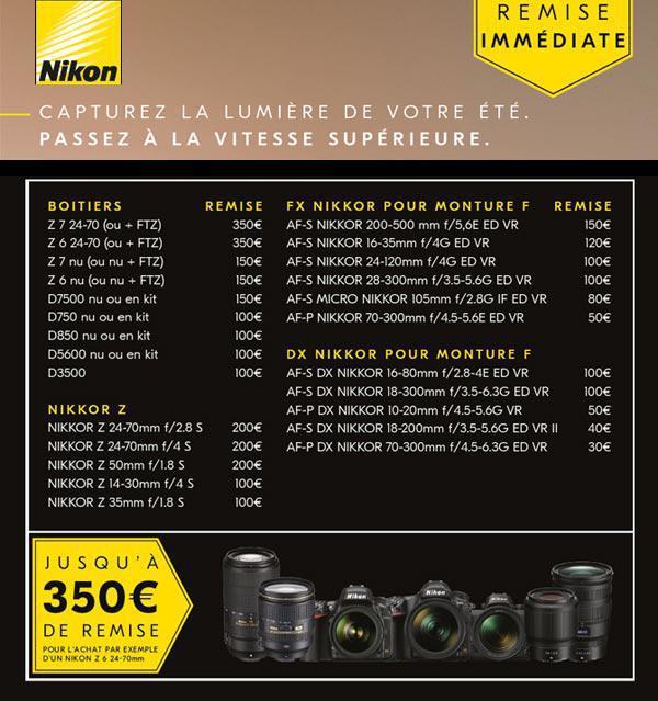 Nikon Capturez la lumière de votre été