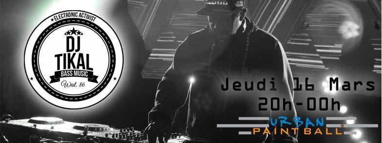 DJ TIKAL en mix live à l'Urban !