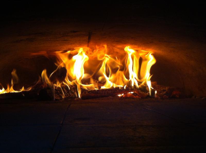 Nos pizzas cuites au feu de bois