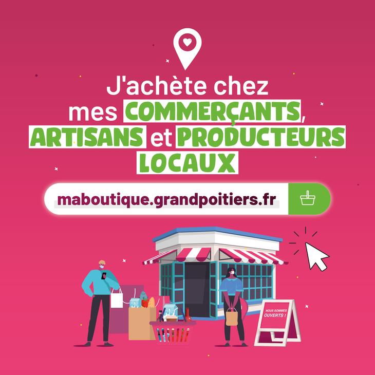 Soutenons nos commerçants, artisans et producteurs locaux !