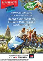 Jeux la carte Parc Asterix
