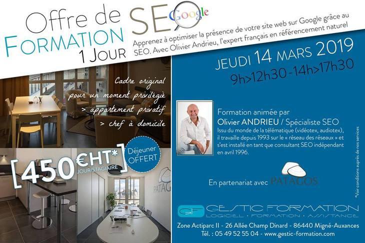 Formation SEO avec Olivier Andrieu