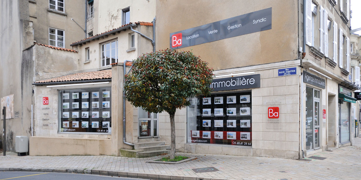 Agence b a for Agence immobiliere poitiers